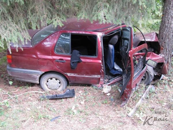 В ДТП в Воложинском районе пострадали пятеро человек