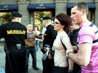 Акции протеста в Беларуси прошли под запрещенную песню Цоя