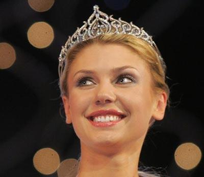 Мисс Беларусь-2006 Екатерина Литвинова получила золотую корону