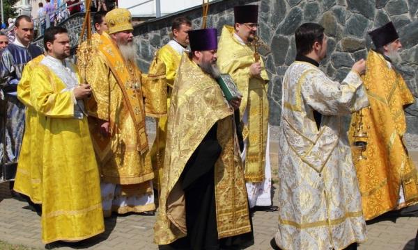 Архипастырский визит в г.п.Ивенец Воложинского района