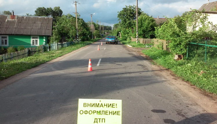 В Воложинском районе Audi сбила 6-летнего велосипедиста