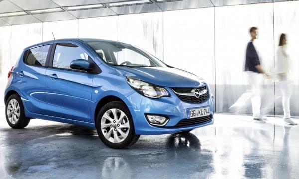 Opel Karl выходит на европейский рынок
