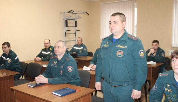 Представлен первый заместитель начальника Воложинского районного отдела по чрезвычайным ситуациям